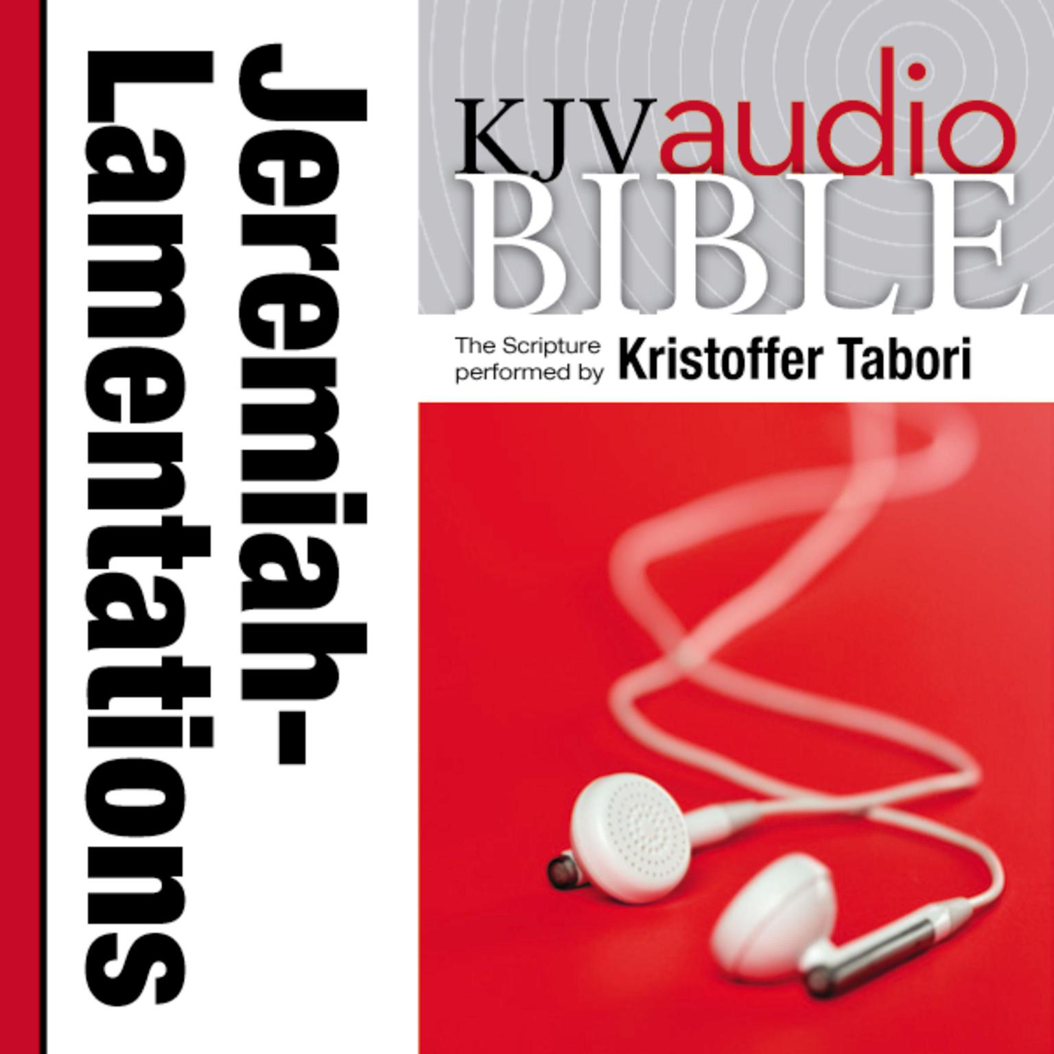Printable KJV, Audio Bible: The Books of Jeremiah and Lamentations, Audio Download Audiobook Cover Art