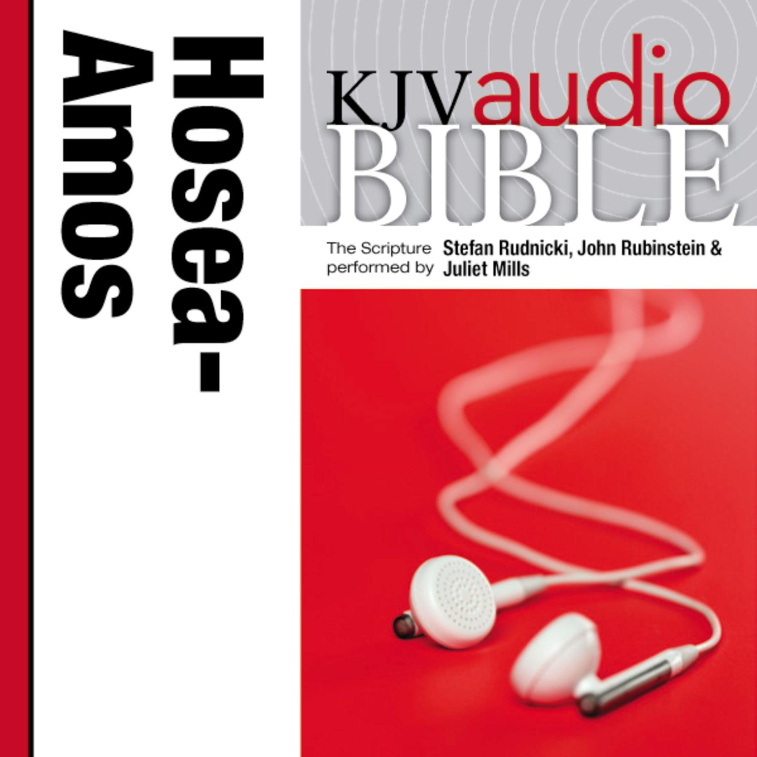 Printable KJV, Audio Bible: The Books of Hosea, Joel, and Amos, Audio Download Audiobook Cover Art