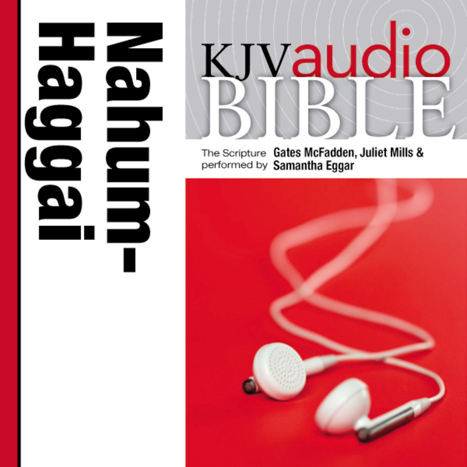 Printable KJV, Audio Bible: The Books of Nahum, Habakkuk, Zephaniah, and Haggai, Audio Download Audiobook Cover Art