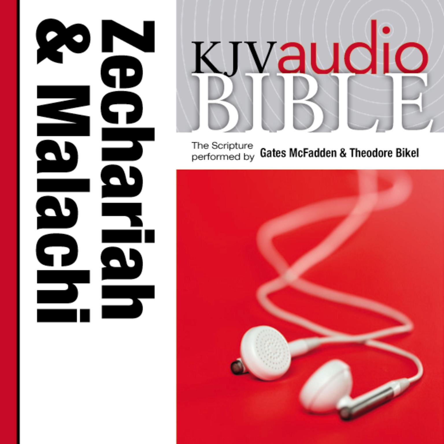 Printable KJV, Audio Bible: The Books of Zechariah and Malachi, Audio Download Audiobook Cover Art