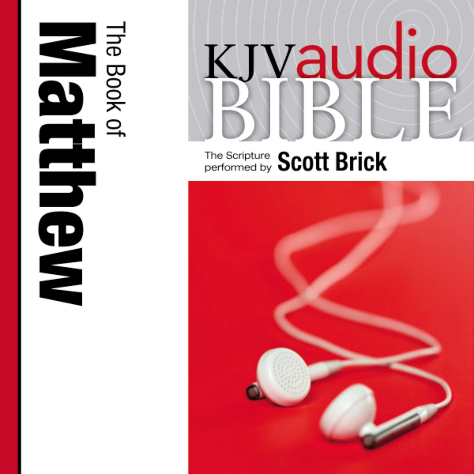 Printable KJV, Audio Bible The Book of Matthew, Audio Download: The Book of Matthew Audiobook Cover Art
