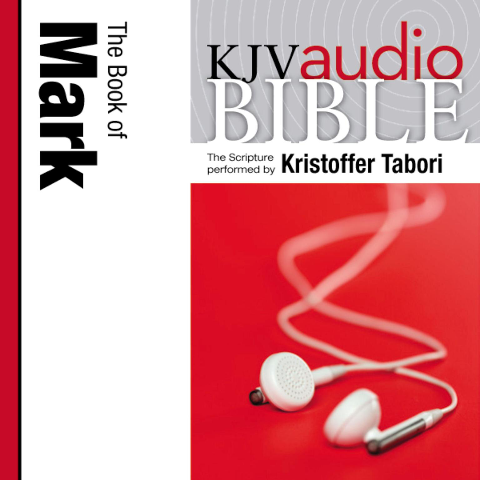 Printable KJV, Audio Bible: The Book of Mark, Audio Download Audiobook Cover Art