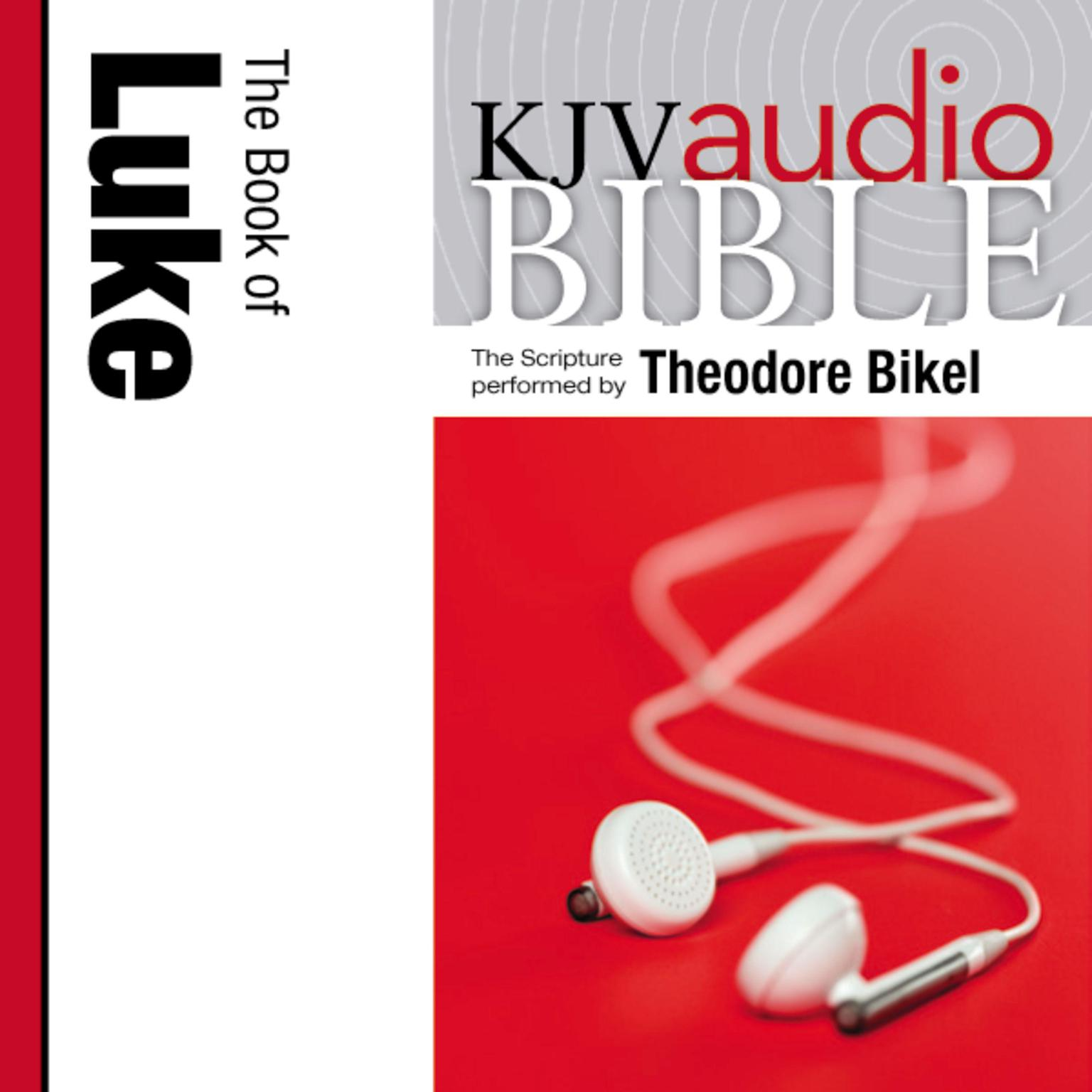 Printable KJV, Audio Bible: The book of Luke, Audio Download Audiobook Cover Art