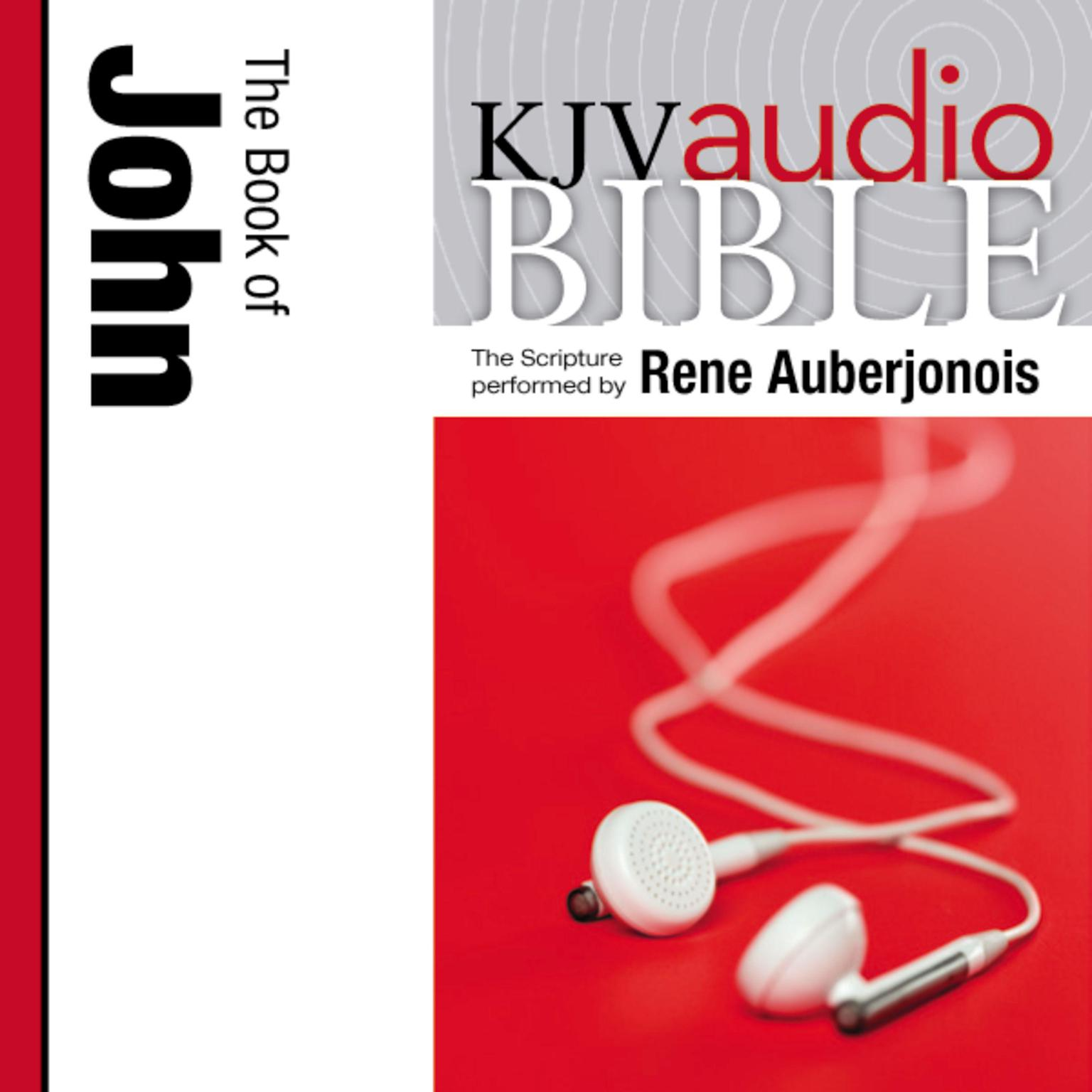 Printable KJV, Audio Bible: The Book of John, Audio Download Audiobook Cover Art