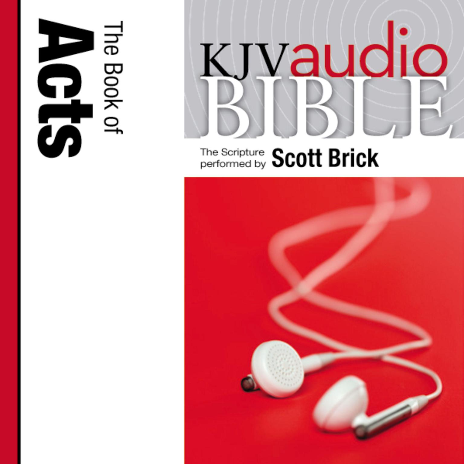 Printable KJV, Audio Bible: The Book of Acts, Audio Download Audiobook Cover Art