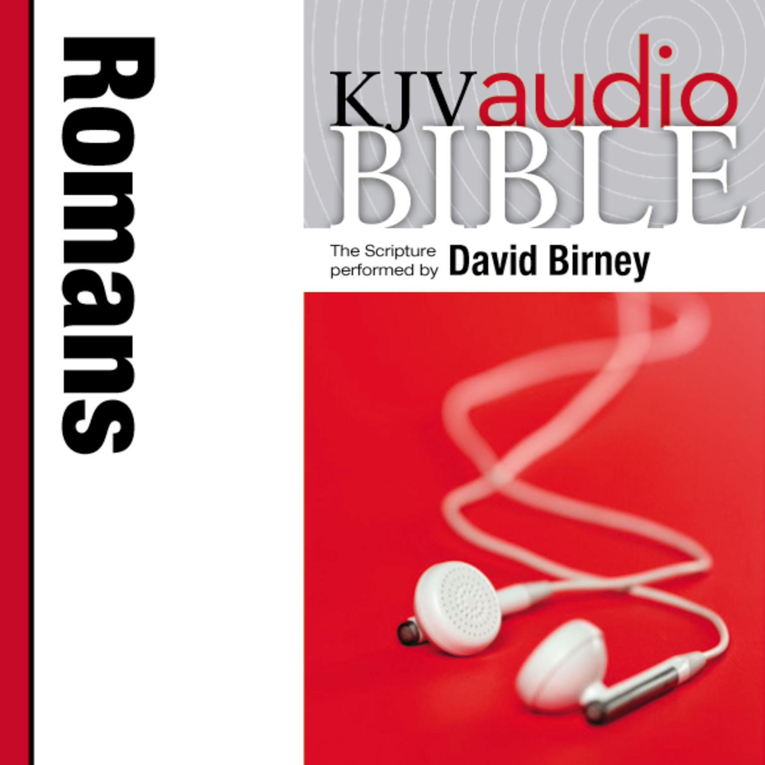 Printable KJV, Audio Bible: The Book of Romans, Audio Download Audiobook Cover Art