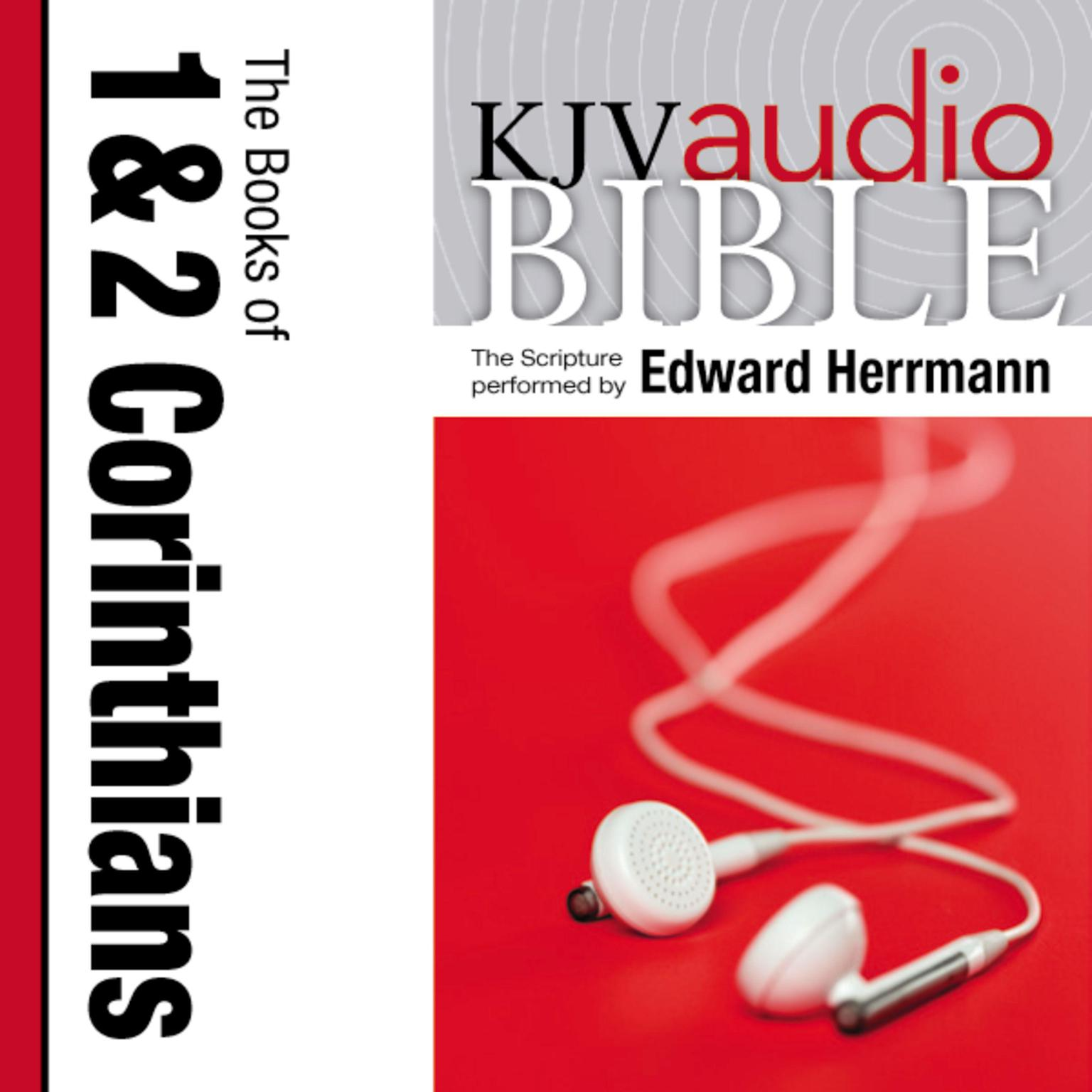 Printable KJV, Audio Bible: The Books of 1 and 2 Corinthians, Audio Download Audiobook Cover Art