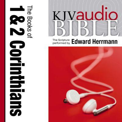 Pure Voice Audio Bible - King James Version, KJV: (33) 1 and 2 Corinthians Audiobook, by Zondervan