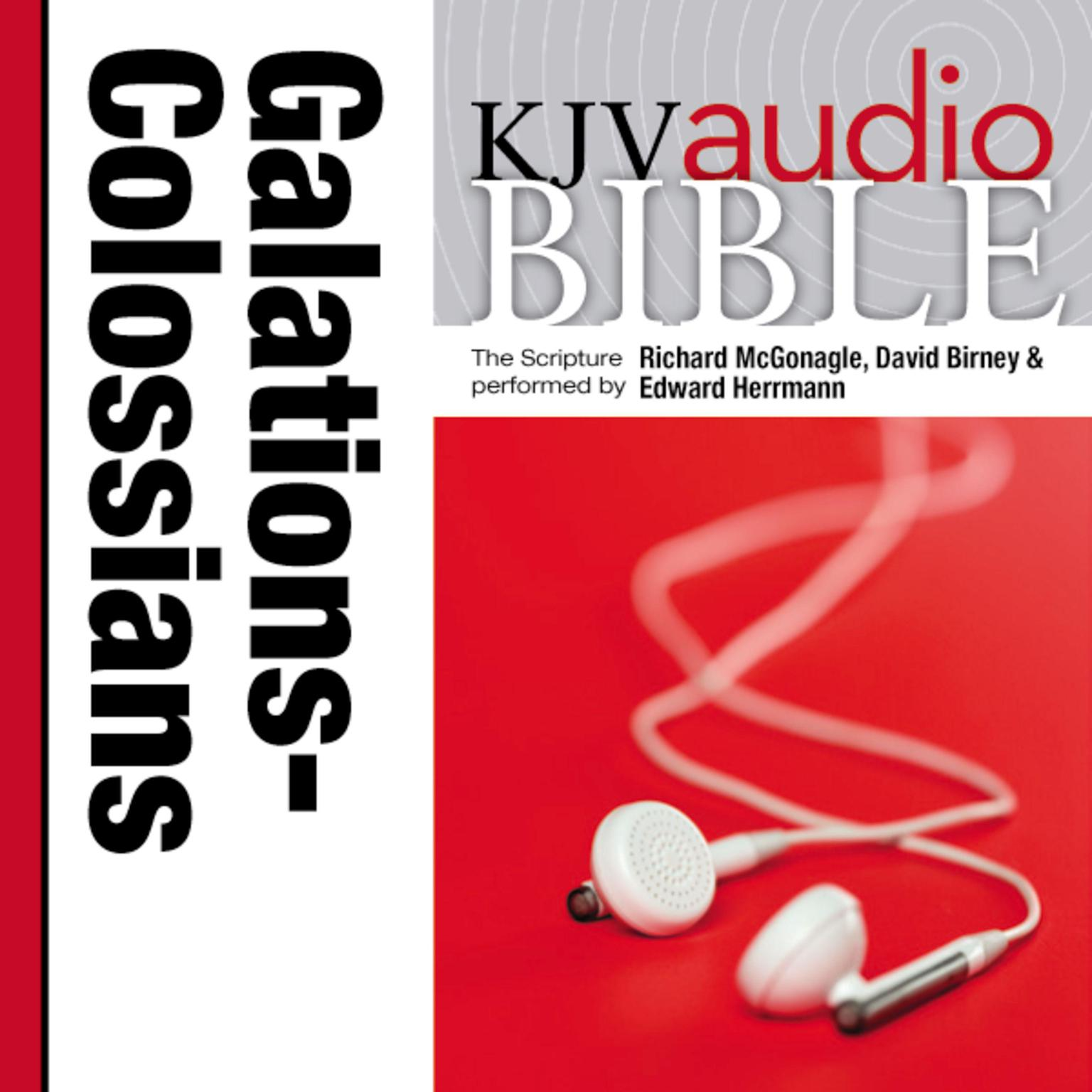 Printable Pure Voice Audio Bible - King James Version, KJV: (34) Galatians, Ephesians, Philippians, and Colossians Audiobook Cover Art