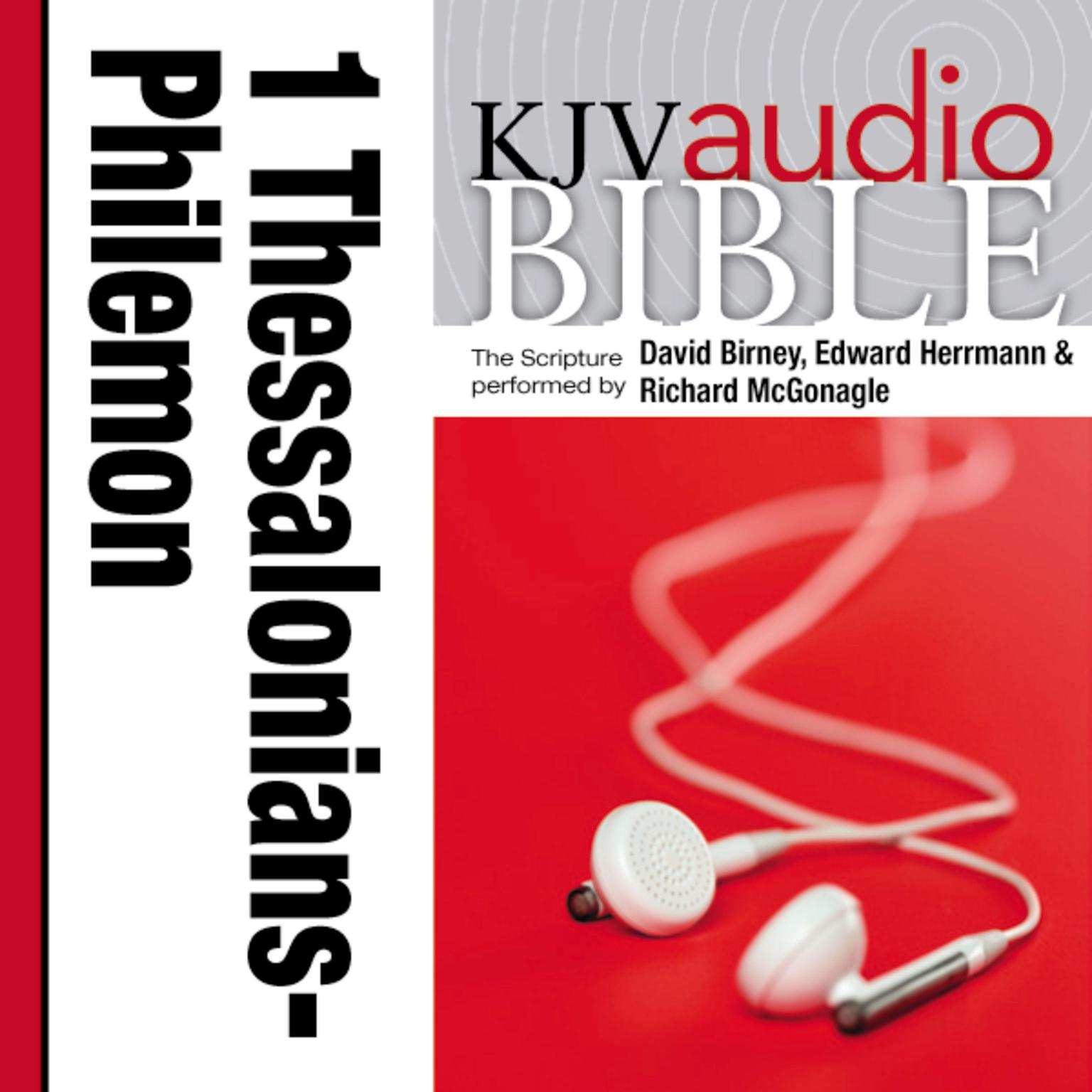 Printable KJV, Audio Bible: 1 Thessalonians through Philemon, Audio Download Audiobook Cover Art