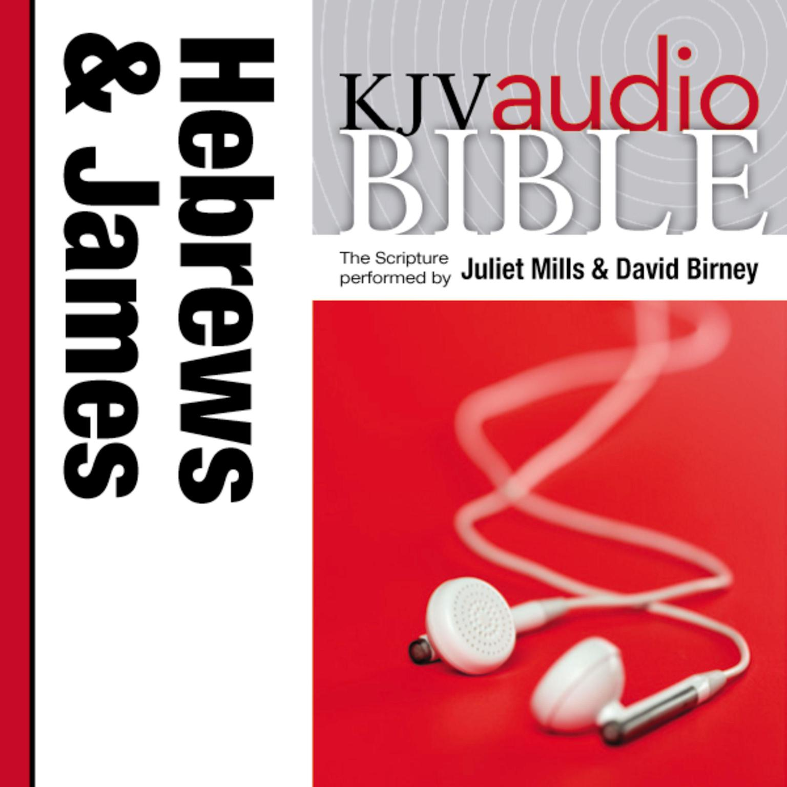 Printable KJV, Audio Bible: The Books of Hebrews and James, Audio Download Audiobook Cover Art