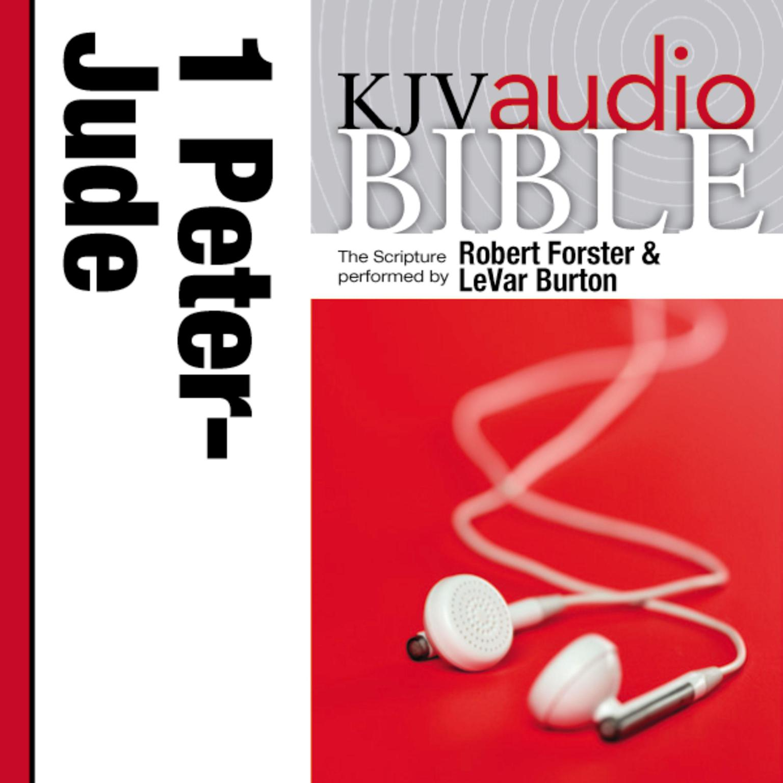 Printable KJV, Audio Bible: The Books of 1 and 2 Peter; 1,2 and 3 John, and Jude, Audio Download Audiobook Cover Art