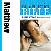 NIV, Audio Bible, Pure Voice: Matthew, Audio Download (Narrated by Barbara Rosenblat) Audiobook, by Zondervan
