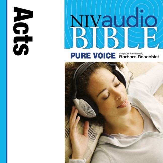 Printable NIV, Audio Bible, Pure Voice: Acts, Audio Download (Narrated by Barbara Rosenblat) Audiobook Cover Art