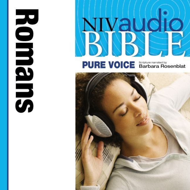 Printable NIV, Audio Bible, Pure Voice: Romans, Audio Download (Narrated by Barbara Rosenblat): Romans Audiobook Cover Art