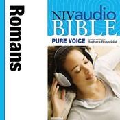 NIV, Audio Bible, Pure Voice: Romans, Audio Download (Narrated by Barbara Rosenblat): Romans