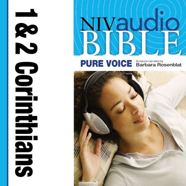 Printable NIV, Audio Bible, Pure Voice: 1 and 2 Corinthians, Audio Download (Narrated by Barbara Rosenblat) Audiobook Cover Art
