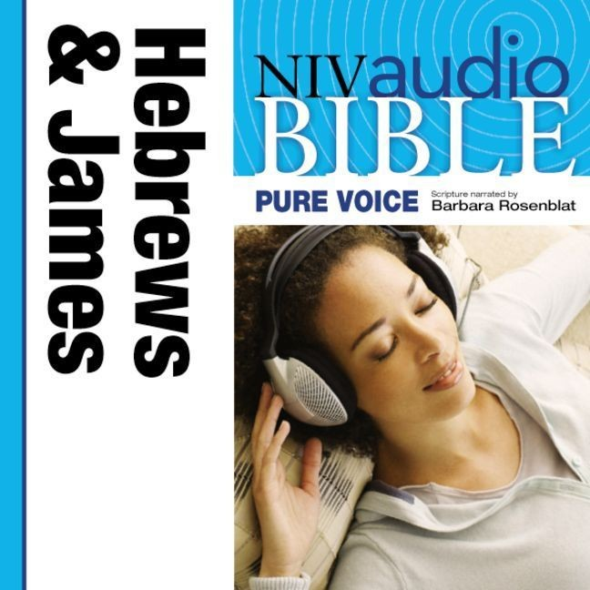 Printable NIV, Audio Bible, Pure Voice: Hebrews and James, Audio Download (Narrated by Barbara Rosenblat): Hebrews and James Audiobook Cover Art