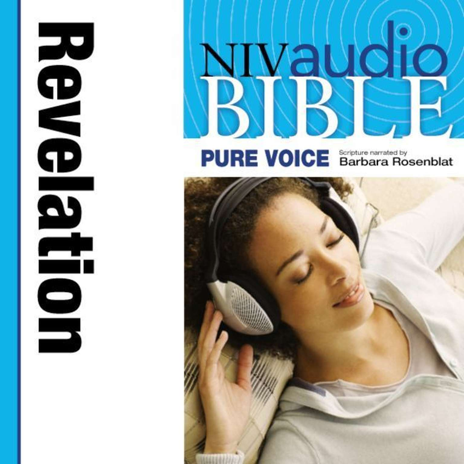 Printable NIV, Audio Bible, Pure Voice: Revelation, Audio Download (Narrated by Barbara Rosenblat) Audiobook Cover Art