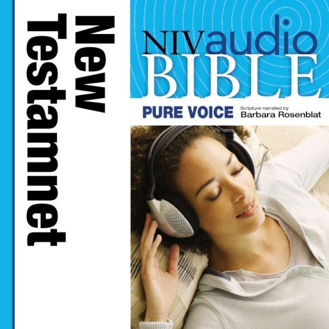 Printable NIV, Audio Bible, Pure Voice: New Testament, Audio Download (Narrated by Barbara Rosenblat) Audiobook Cover Art
