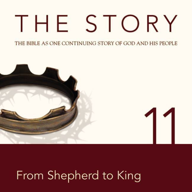 Printable NIV, The Story: Chapter 11 - From Shepherd to King, Audio Download Audiobook Cover Art