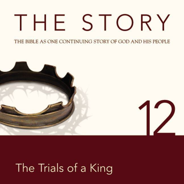 Printable NIV, The Story: Chapter 12 - The Trials of a King, Audio Download Audiobook Cover Art