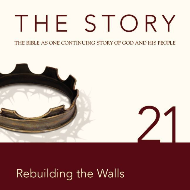 Printable NIV, The Story: Chapter 21 - Rebuilding the Walls, Audio Download Audiobook Cover Art