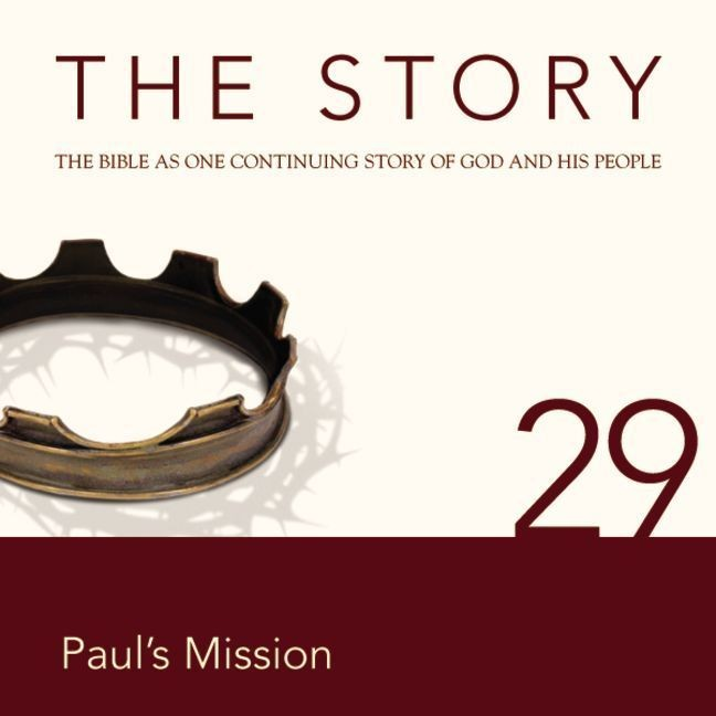 Printable NIV, The Story: Chapter 29 - Paul's Mission, Audio Download Audiobook Cover Art