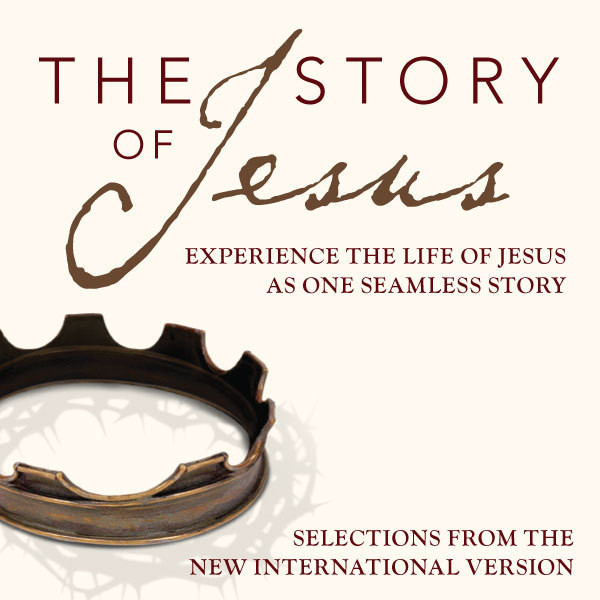 Printable NIV, Story of Jesus, Audio Download: Experience the Life of Jesus as One Seamless Story Audiobook Cover Art
