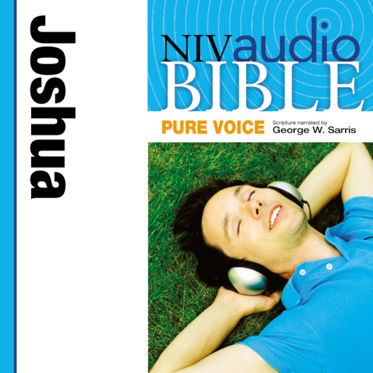 Printable NIV, Audio Bible, Pure Voice: Joshua, Audio Download (Narrated by George W. Sarris) Audiobook Cover Art