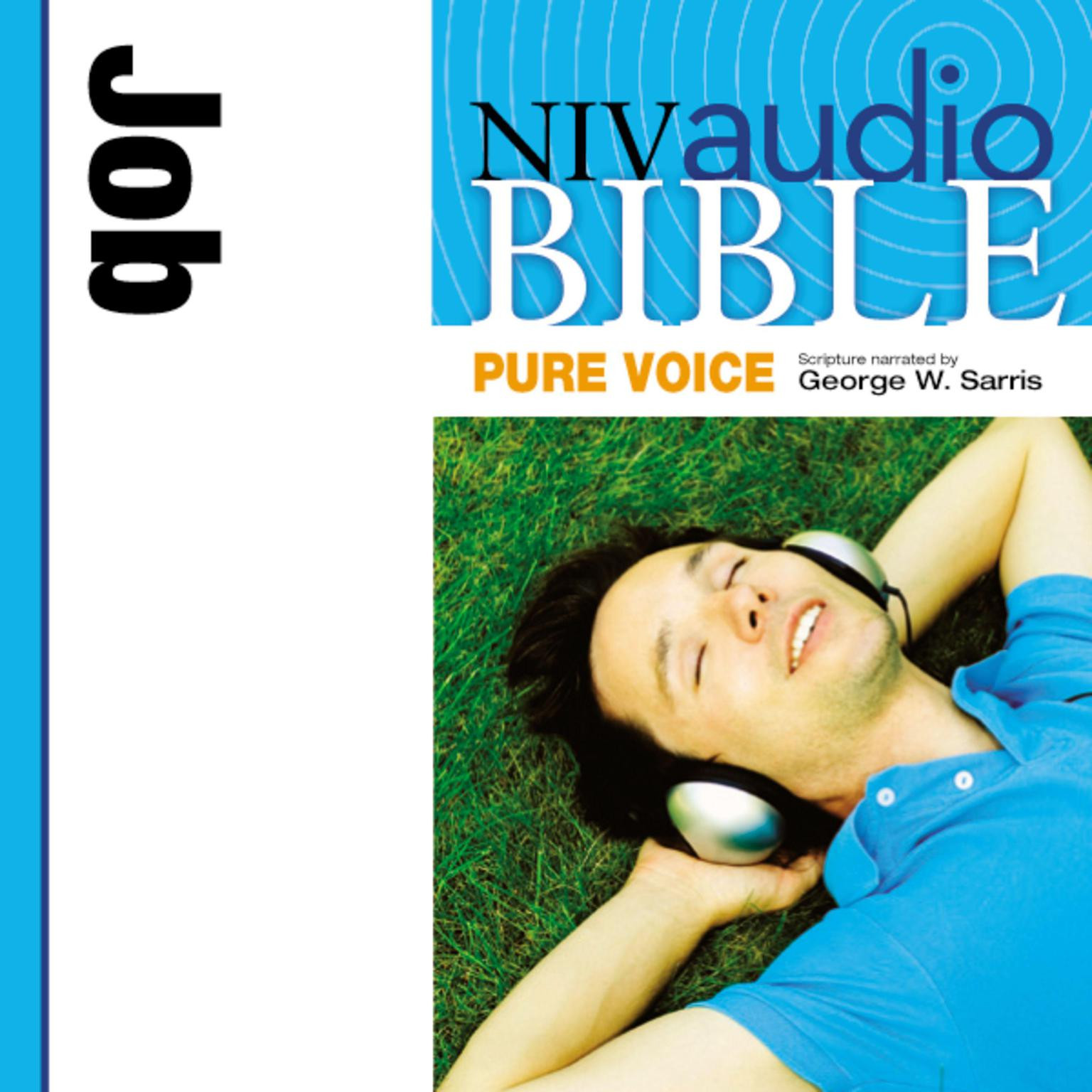 Printable NIV, Audio Bible, Pure Voice: Job, Audio Download (Narrated by George W. Sarris): Job Audiobook Cover Art