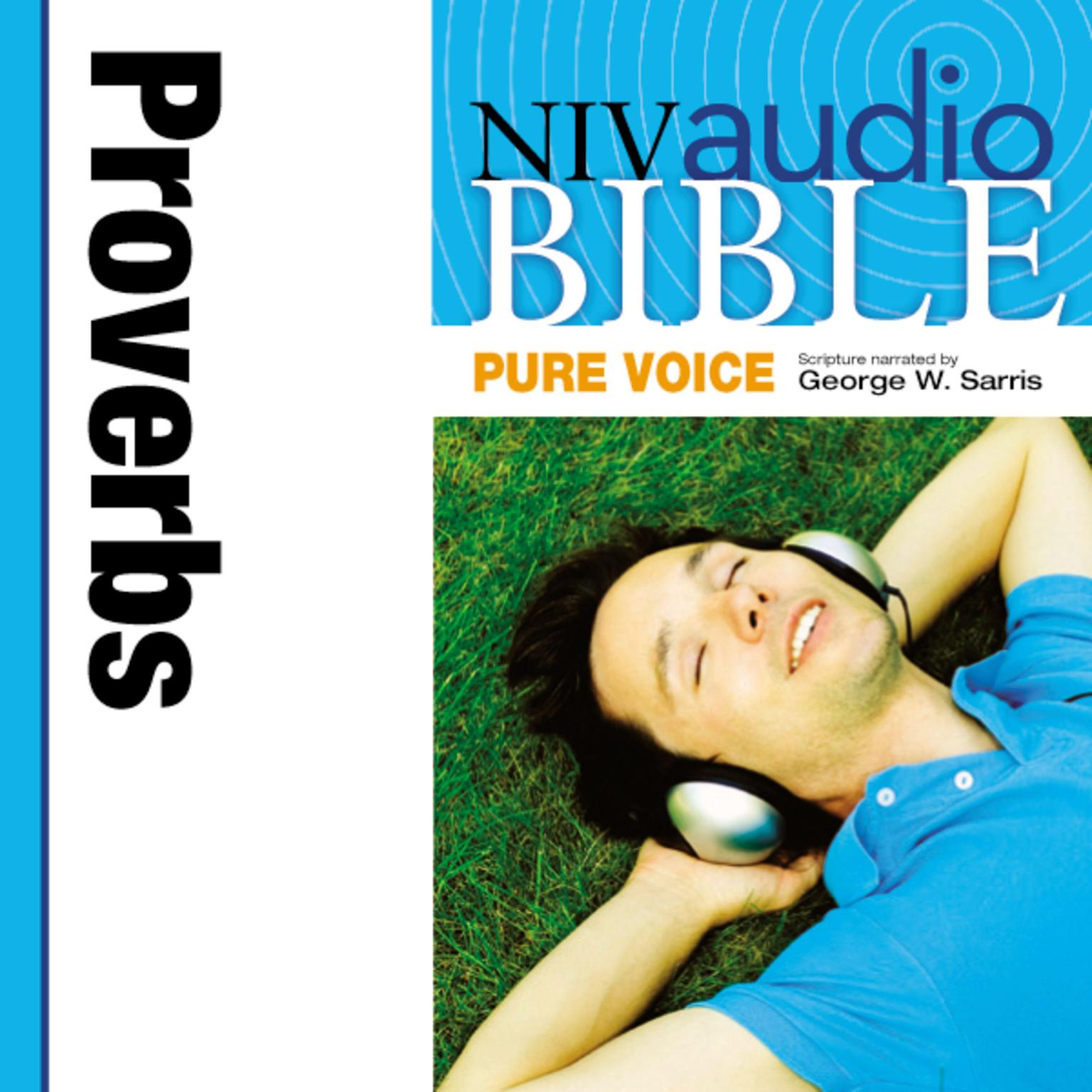 Printable NIV, Audio Bible, Pure Voice: Proverbs, Audio Download Audiobook Cover Art