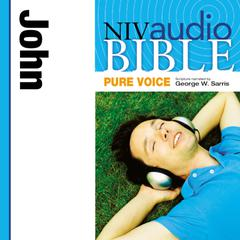 NIV, Audio Bible, Pure Voice: John, Audio Download (Narrated by George W. Sarris) Audiobook, by Zondervan