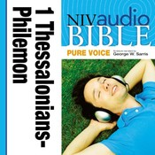 NIV, Audio Bible, Pure Voice: 1 and 2 Thessalonians, 1 and 2 Timothy, Titus, and Philemon, Audio Download (Narrated by George W. Audiobook, by Zondervan