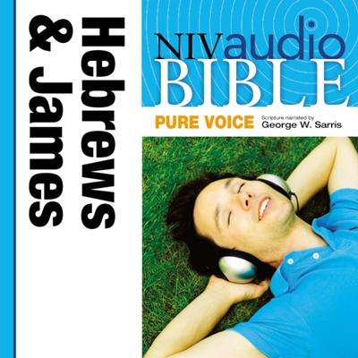 NIV, Audio Bible, Pure Voice: Hebrews and James, Audio Download (Narrated by George W. Sarris) Audiobook, by Zondervan