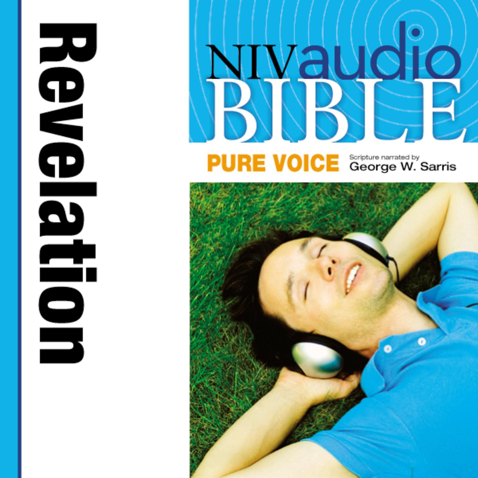 Printable NIV, Audio Bible, Pure Voice: Revelation, Audio Download (Narrated by George W. Sarris) Audiobook Cover Art