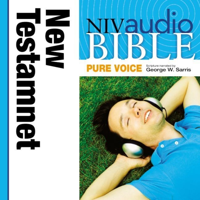Printable NIV, Audio Bible, Pure Voice: New Testament, Audio Download (Narrated by George W. Sarris) Audiobook Cover Art