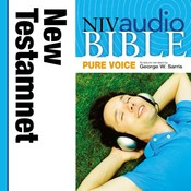 NIV, Audio Bible, Pure Voice: New Testament, Audio Download (Narrated by George W. Sarris) Audiobook, by Zondervan