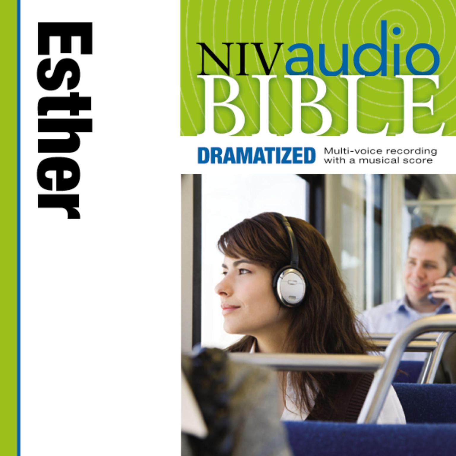 Printable NIV, Audio Bible, Dramatized: Esther, Audio Download Audiobook Cover Art