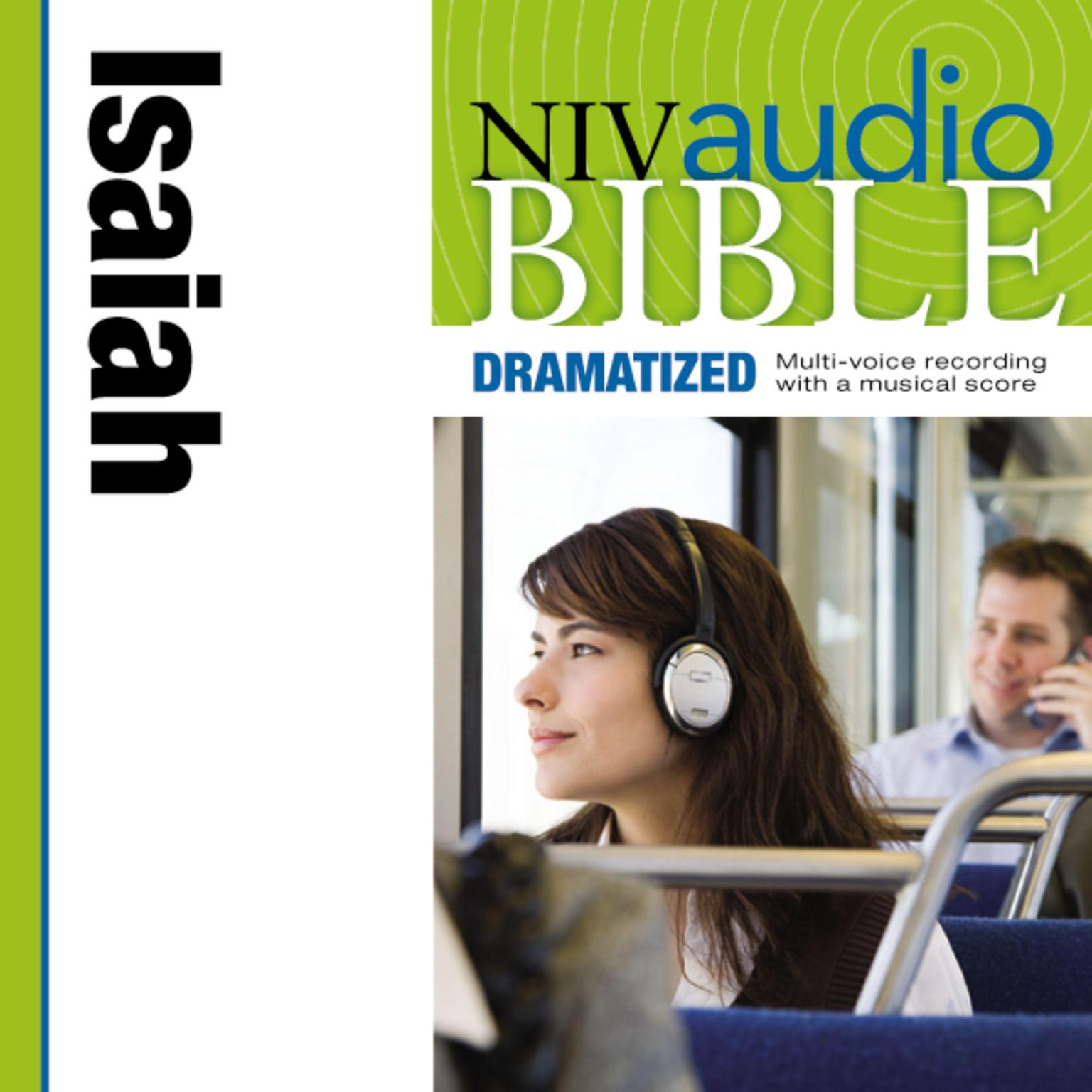 Printable NIV, Audio Bible, Dramatized: Isaiah, Audio Download Audiobook Cover Art