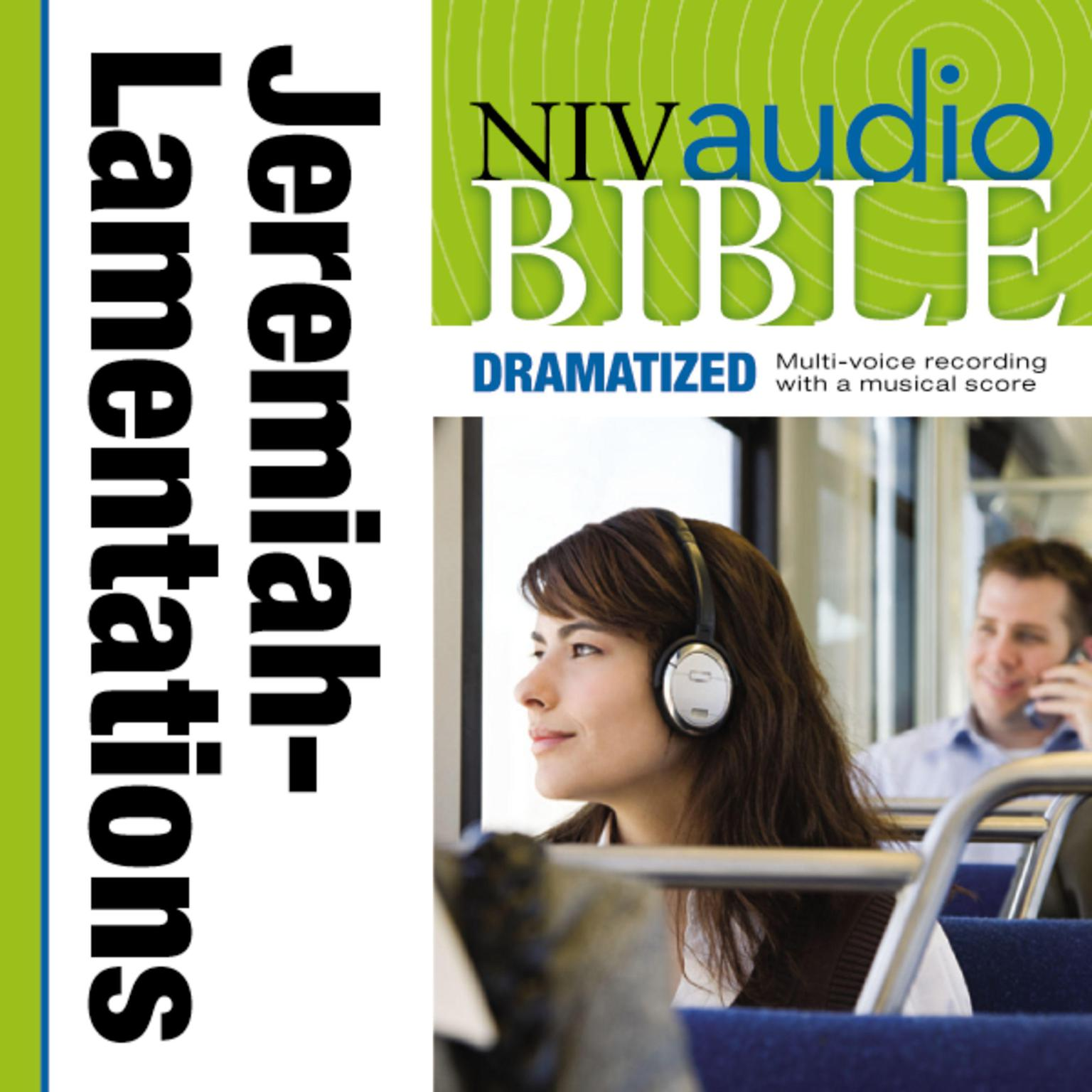 Printable NIV, Audio Bible, Dramatized: Jeremiah and Lamentations, Audio Download Audiobook Cover Art