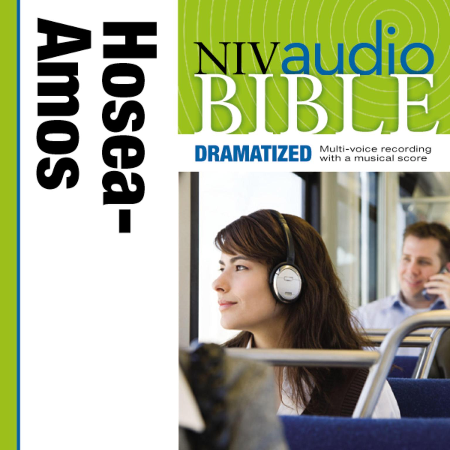 Printable NIV, Audio Bible, Dramatized: Hosea, Joel, and Amos, Audio Download Audiobook Cover Art