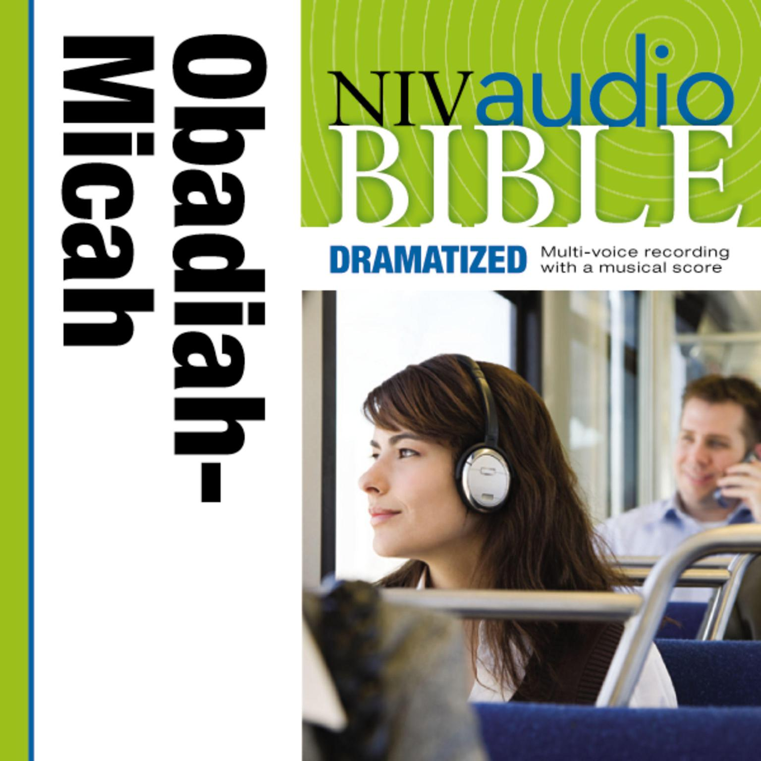 Printable NIV, Audio Bible, Dramatized: Obadiah, Jonah, and Micah, Audio Download Audiobook Cover Art
