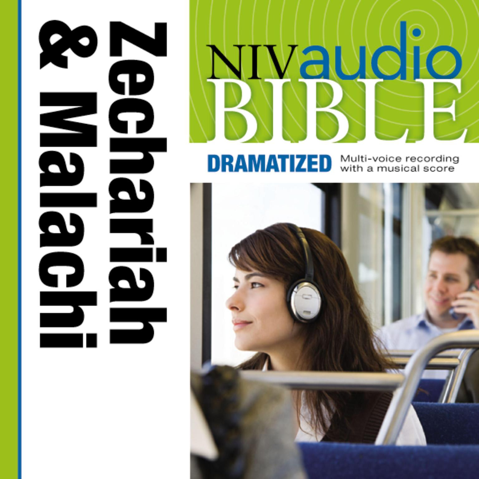 Printable NIV, Audio Bible, Dramatized: Zechariah and Malachi, Audio Download Audiobook Cover Art