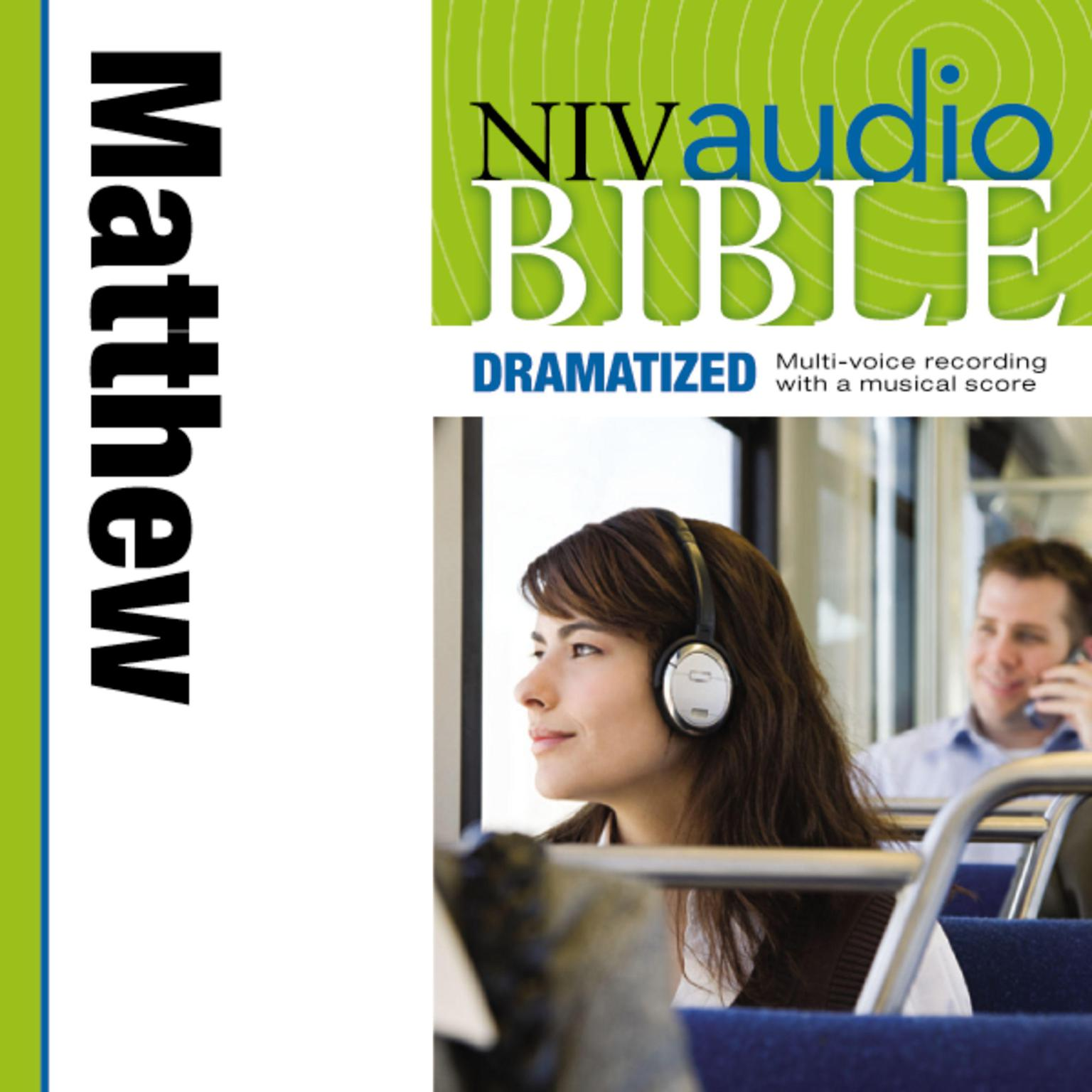 Printable NIV, Audio Bible, Dramatized: Matthew, Audio Download Audiobook Cover Art
