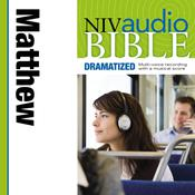 NIV, Audio Bible, Dramatized: Matthew, Audio Download, by Zondervan, Zondervan