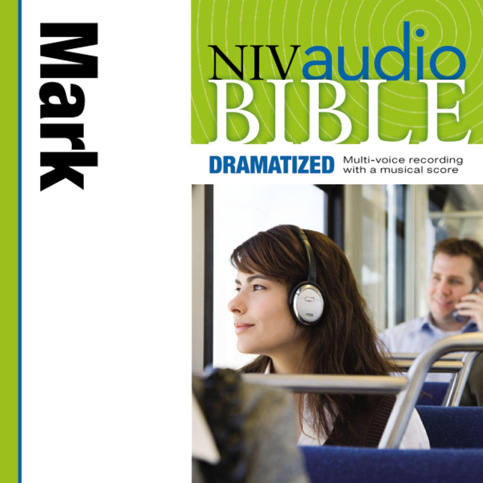 Printable NIV, Audio Bible, Dramatized: Mark, Audio Download Audiobook Cover Art
