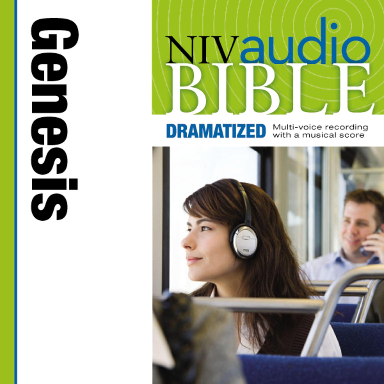 Printable NIV, Audio Bible, Dramatized: Genesis, Audio Download Audiobook Cover Art