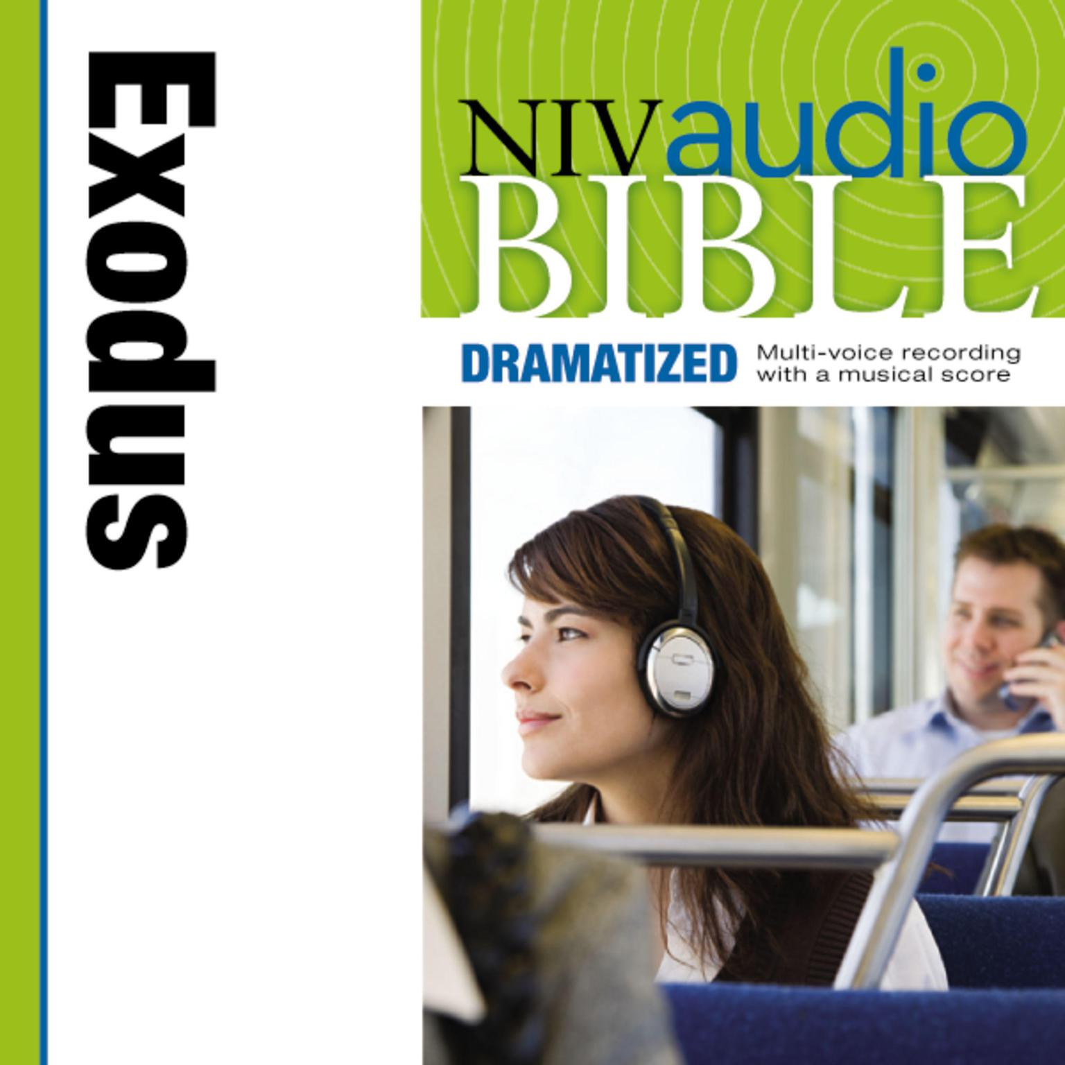 Printable NIV, Audio Bible, Dramatized: Exodus, Audio Download Audiobook Cover Art