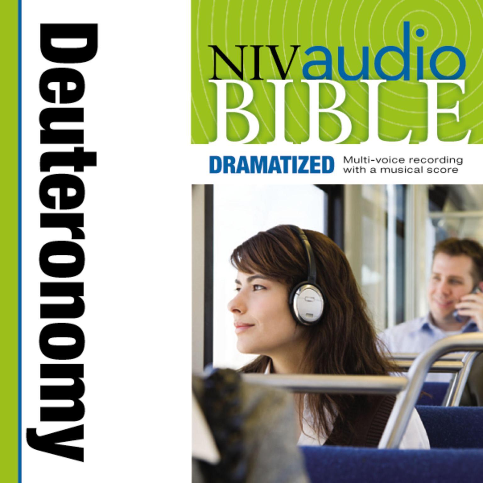 Printable NIV, Audio Bible, Dramatized: Deuteronomy, Audio Download Audiobook Cover Art